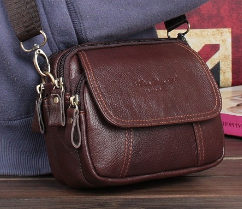 Genuine leather womens handbag vintage small womens cross-body bag waist pack casual 2013 cowhide messenger bag<br><br>Aliexpress