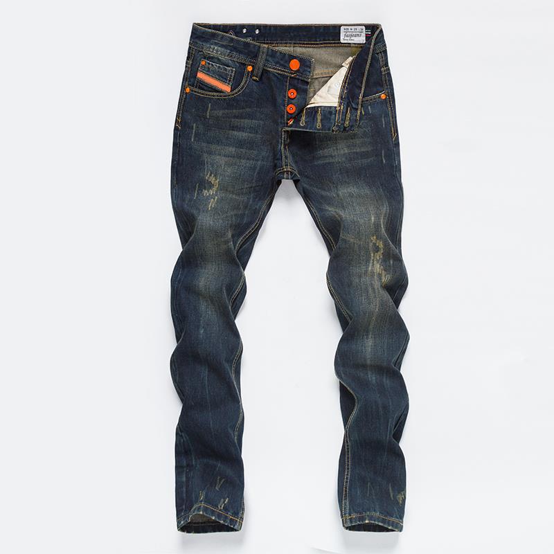 2016 hot sale brand men jeans 100 cotton straight fit denim men jeans button fly biker jeans. Black Bedroom Furniture Sets. Home Design Ideas
