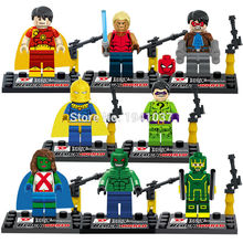 D856 Building Blocks Super Heroes Avengers Ultron MiniFigures Myperion/DR Fate/Mis Marian/Riddler/Croc Mini figures