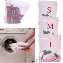 3 Size Washing Bag Underwear Clothes Aid Bra Socks Laundry Machine Net Mesh(China (Mainland))