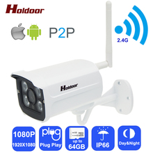 Buy Wifi Ip Camera 1080p HD Support Micro SD Card IP66 Waterproof CCTV Security Wireless Camara P2P Outdoor Infrared IR Network CAM for $38.49 in AliExpress store