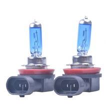 Buy 2pcs 12V 55W 6000K H11 Car Fog Light Bulb Lamp Super White Halogen Car Auto Head Lamp H11 Car Styling Car Headlight Bulb for $2.50 in AliExpress store