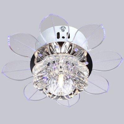New Corridor Stairs Crystal Chandelier Modern Chandelier Living Room Art Deco Ceiling Fan Shape Crystal Chandelier<br><br>Aliexpress