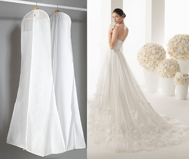 Buy top grade wedding dress dust cover for Where to buy non traditional wedding dress