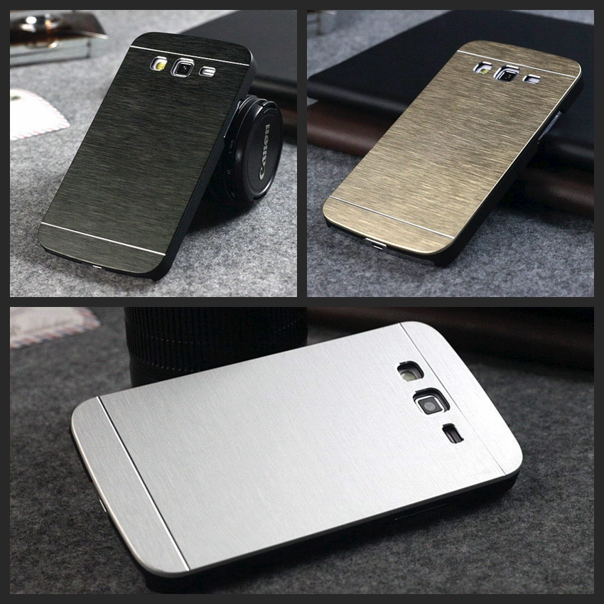 Luxury Metal Case Samsung Galaxy Core Prime Grand Neo S3 S4 S5 S6 S7 Edge J1 Mini J3 J5 A3 A5 2016 Aluminum Back Cover  -  HC Global (HK store Trading Co.,Ltd)