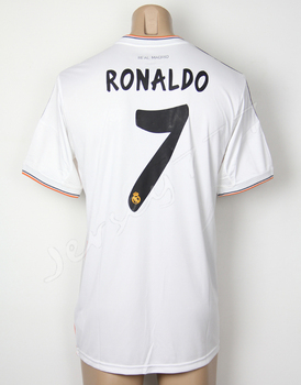 Cristiano Ronaldo Real Madrid shirt 2014 Home Thai best 13/14 soccer jersey made in Thailand