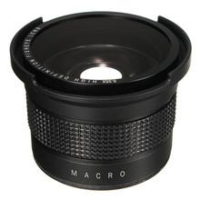 Buy 0.35X Super Wide Angle Fisheye Macro Lens 58mm Canon EOS 700D 650D 600D 550D 1100D Rebel T5i T4i T2i XSi SL 18-55mm for $21.35 in AliExpress store