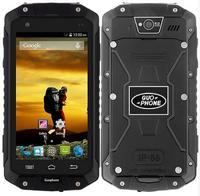 Guophone V9 MTK6572 Dual Core Waterproof shockproof Mobile Cell Phone 4.5