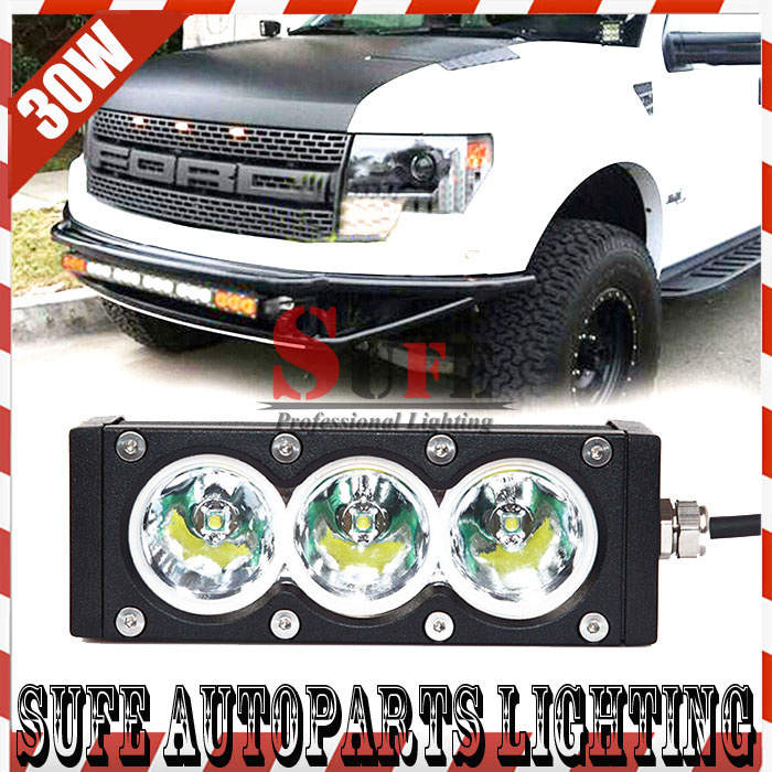 FREE SHIPPING 6 INCH 30W CREE LED LIGHT BAR FOR OFF ROAD TRUCK 4X4 LIGHT BAR FLOOD OR SPOT LED DRIVING LIGHT LED WORK LIGHT 60W<br><br>Aliexpress