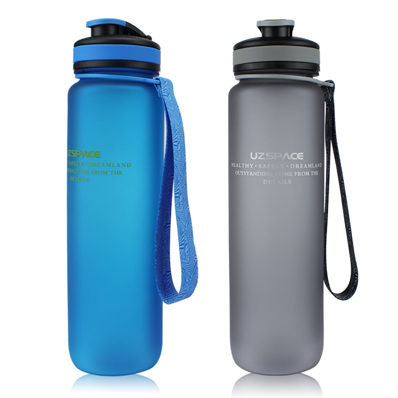 uzspace пластик спортивные бутылки