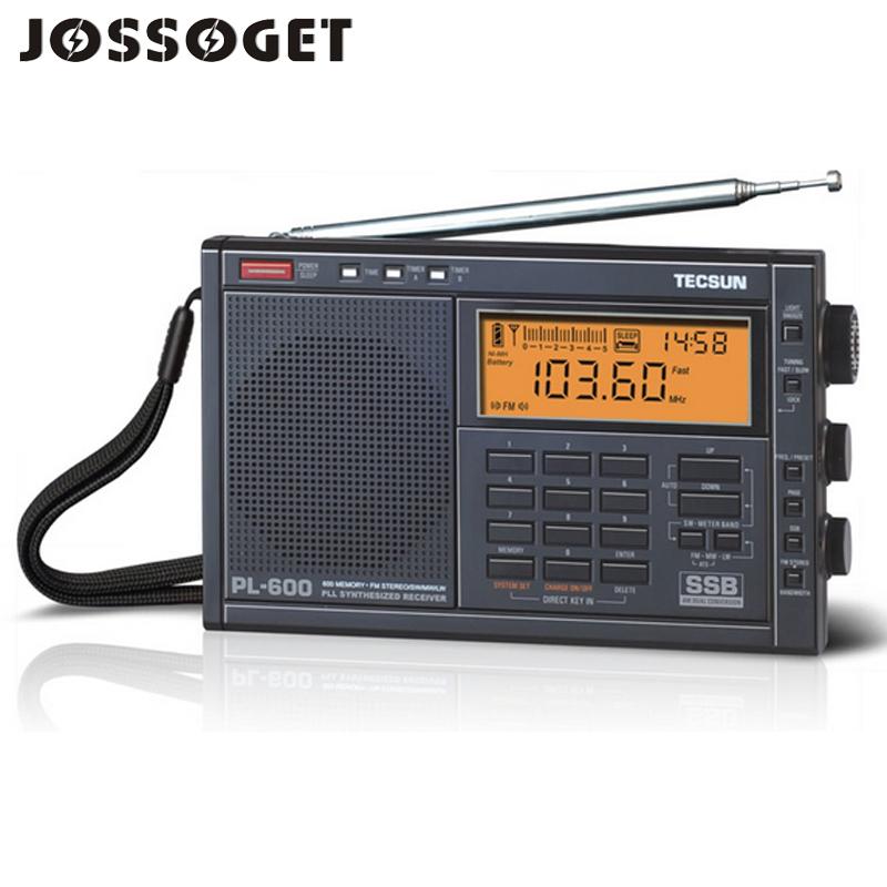 TECSUN PL-600 Full Band Radio Digital Radio FM LW MW SW Stereo Portable Radio Frequency 87-108MHz Radyo FM Stereo Drop Shipping(China (Mainland))