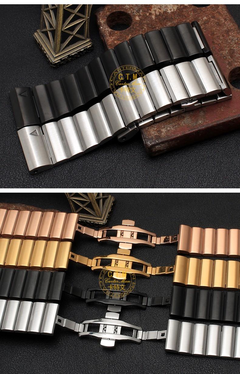 Четыре цвета 26 мм ширина Классический нержавеющей стали металлический ремешок для Gramin, метал Группы для Gramin Fenix3 Бесплатная доставка