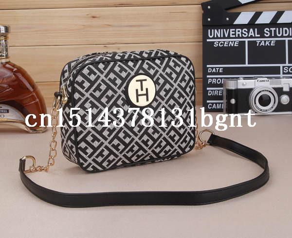 2015 the latest T women bag Jacquard tomyed fashion tom Bowling style bag USA style free shipping(China (Mainland))