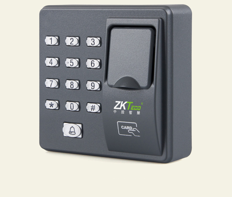 RAYKUBE RFID Fingerprint Reader & Password Keypad With 10pcs ID Card For Door Access Control System R-FX6