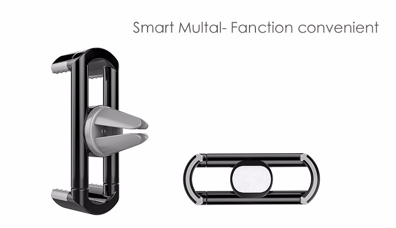 Car Phone Holder Air Vent Mount Mobile Phone Stand for iPhone 5S 6S 6 Samsung Xiaomi Meizu Support for Smartphone GPS Navigation