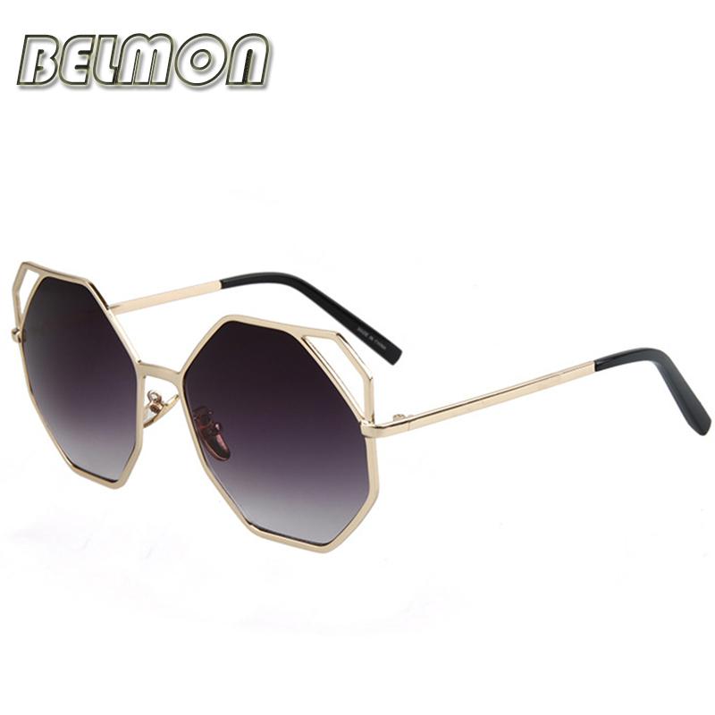 BELMON 2016 Fashion Sunglasses Women Luxury Brand Designer Sun Glasses For Ladies Vintage Oculos UV400 Mirror Lens Female RS170(China (Mainland))