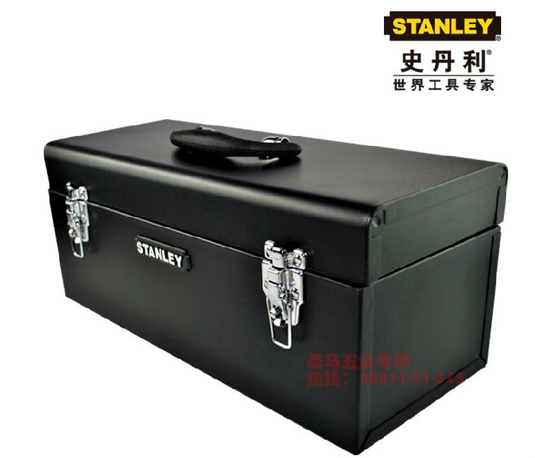 STANLEY / Stanley bimetallic metal toolbox toolbox stainless steel 17-inch / 20-inch(China (Mainland))