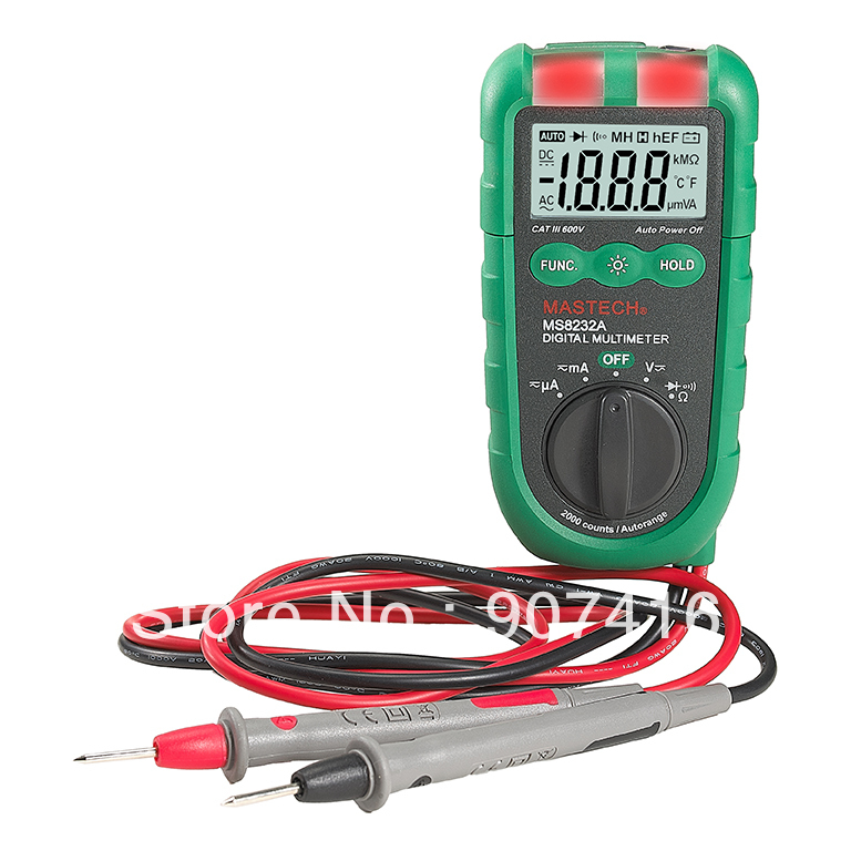 MASTECH NEW MS8232A Mini Auto range Digital Multimeter Non-contact voltage detection DMM free shipping<br><br>Aliexpress