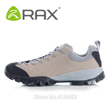 RAX genuine leather men casual shoes lightweight men wear-resistant non-slip EVA outdoor shoes A608(China (Mainland))