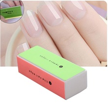 Nail Art Buffer Sand Sponge File Block Pedicure Manicure Tool Buffing Polish Elegant Ladies High quality