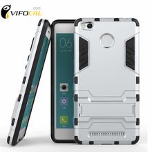 Xiaomi Redmi 3S Case Stand Anti-Knock Dual Hybrid TPU+PC Protective Silicone Back Cover Pro / Prime 3 - Vifocal Technology Co. Ltd store