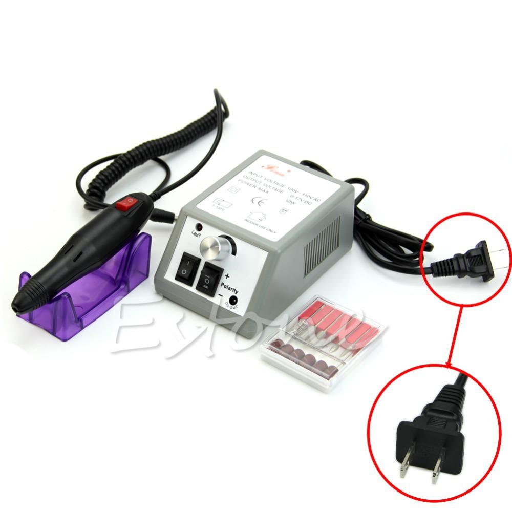 Free Shipping Professional Manicure Pedicure Electric Art Pen Machine Drill File Nail Set Kit<br><br>Aliexpress