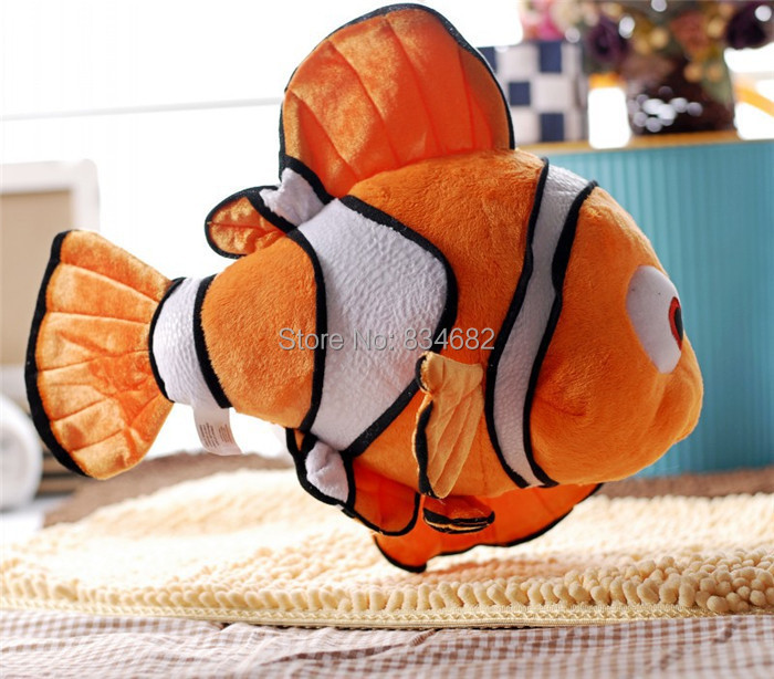 "J.G Chen Free Shipping Movie Finding Nemo Cute Clown Fish Stuffed Animal 16"" 43cm Retail Wholesale Plush Toys for Kids(China (Mainland))"