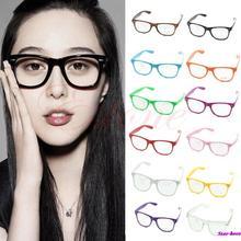 Fashion Cool Unisex Clear Lens Wayfarer Nerd Geek Glasses Eyewear For Men Women