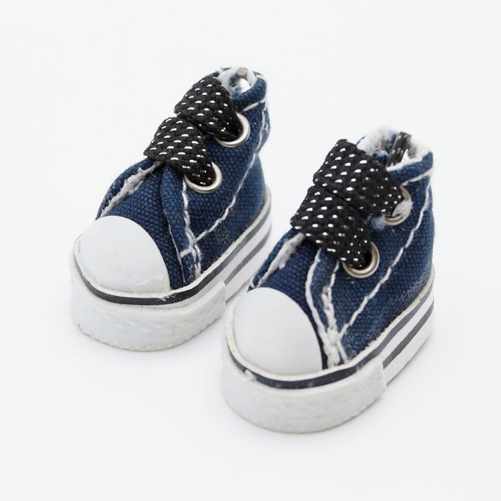 "Blue Sneakers For 12"" Neo Bly the Doll G&D Free Shipping(China (Mainland))"