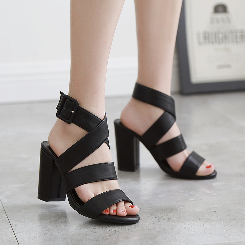Popular Strappy Low Heel Shoes-Buy Cheap Strappy Low Heel Shoes