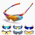 ROBESBON New Unisex Cycling Bicycle Glasses MTB Bike UV400 Goggle Sunglasses Eyewear Ciclismo Las gafas Multicolor