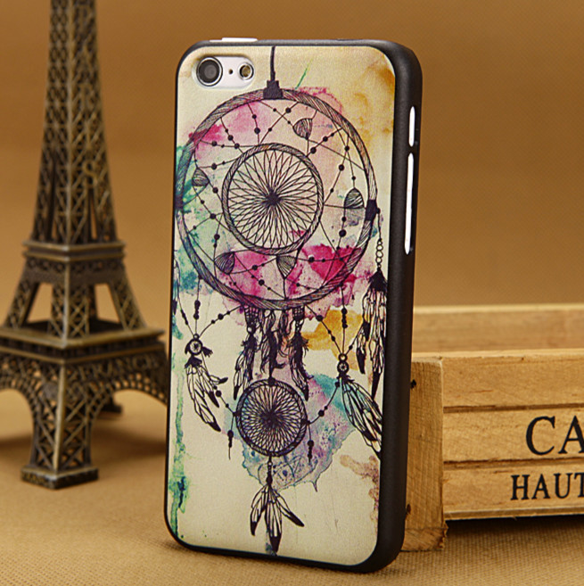 Luxury 3D painting tower Case for apple iphone 5c cover for iphone5c Cases i phone 5 c covers skin Free Shipping PY(China (Mainland))