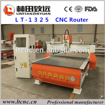 China cheap T-slot table wood stair promotion price vacuum table cnc wood router(China (Mainland))