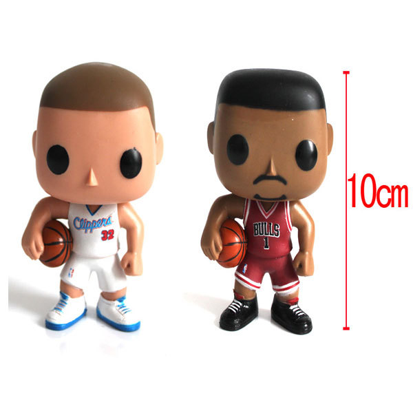 ANIME FUNKO POP TOY Sport Chicago Rose Clippers Griffin action figure Q Edition Model new box for Car Decoration Gift # 09 & #02(China (Mainland))