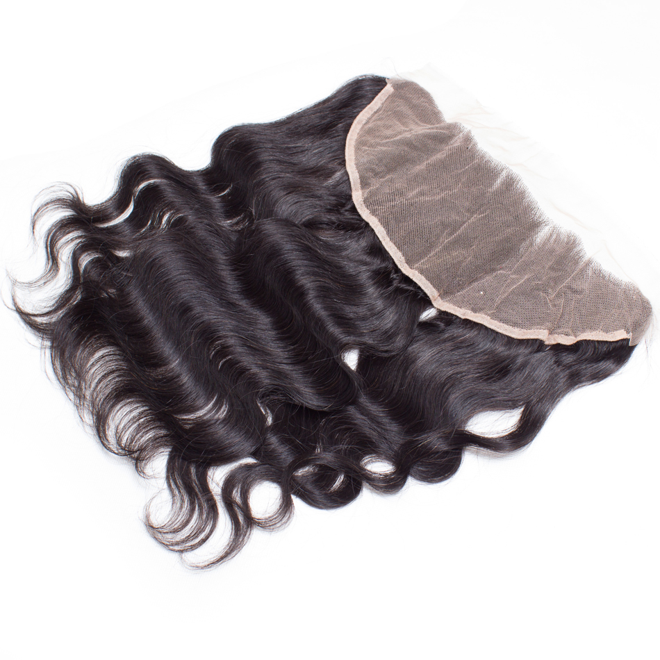 7A Grade Brazilian Lace Frontal Closure 13x4Body Wave Ear To Ear Lace Frontal With Baby Hair Virgin Human Hair Full Lace Frontal<br><br>Aliexpress