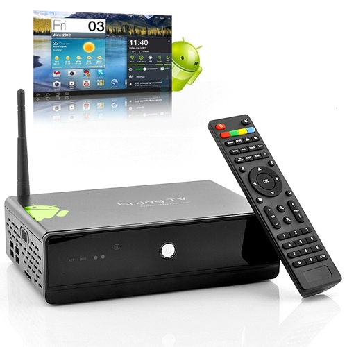 Android 4.0 TV HDD Bay WiFi Media Player(China (Mainland))