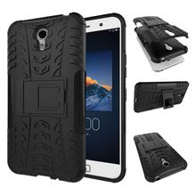 Case For Lenovo ZUK Z1 Case Anti-Knock Silicone + Hard Plastic Case For Lenovo ZUK Z1 Z1221 Fundas Mobile Phone Holder Stand Bag