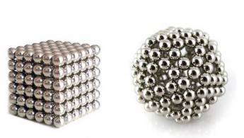 216 pcs Diameter 3mm Silver The Neocube neodymium Toy Neo Cubes Puzzle Cube Toy Sphere Magnet Magnetic Bucky Balls Buckyballs(China (Mainland))