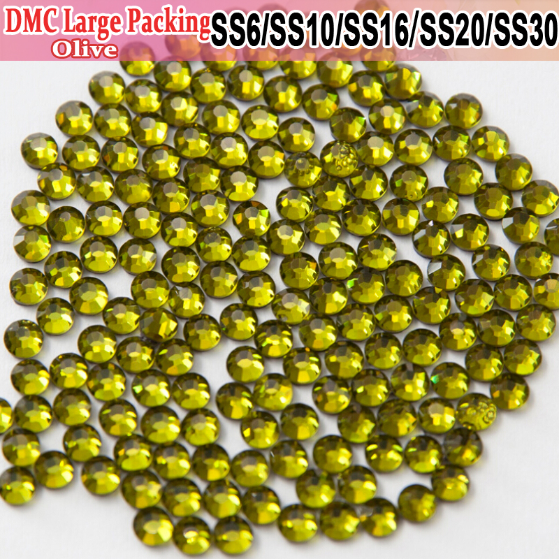 Bulk Packing Iron On Olivine Beautiful stoning design stones and crystals Transfer Designs Hotfix Rhinestones(China (Mainland))