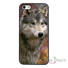 For iphone 4/4s 5/5s 5c SE 6/6s 7 plus ipod touch 4/5/6 back skins cellphone cases cover Wolf Arctic Howling Nature Wildlife