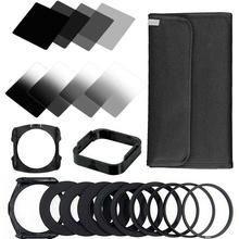 ZOMEI 21 in1 Gradient Neutral Density Gradual ND Filter Kit for Cokin P Series Pro Set SLR DSLR Camera Lens