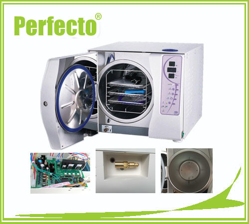 23L Class B Vacuum Steam Dental Autoclave Sterilizer WITHOUT PRINTER FREE SHIPPING(China (Mainland))