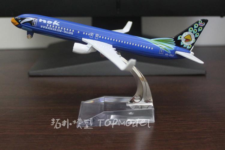 16cm Airplane Plane Model Thai Bird NOK AIR HS-DBD B737 800 Airline Aircraft Metal Model Diecasts Souvenir Toy Vehicles Gifts(China (Mainland))