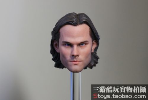 1/6 FUNTOYS Figure Accessories Movies Supernatural Sam Winchester Jared Padalecki Head Sculpt For 12 Action Figure Body Toys F