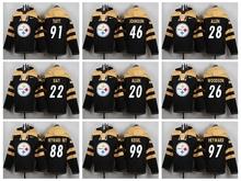 Pittsburgh Steelers,Antonio Brown,Miller,Joe Greene,Jack Lambert,Pouncey,Ryan Shazier,Polamalu,Jerome Bettis,hoodies,for men's,(China (Mainland))