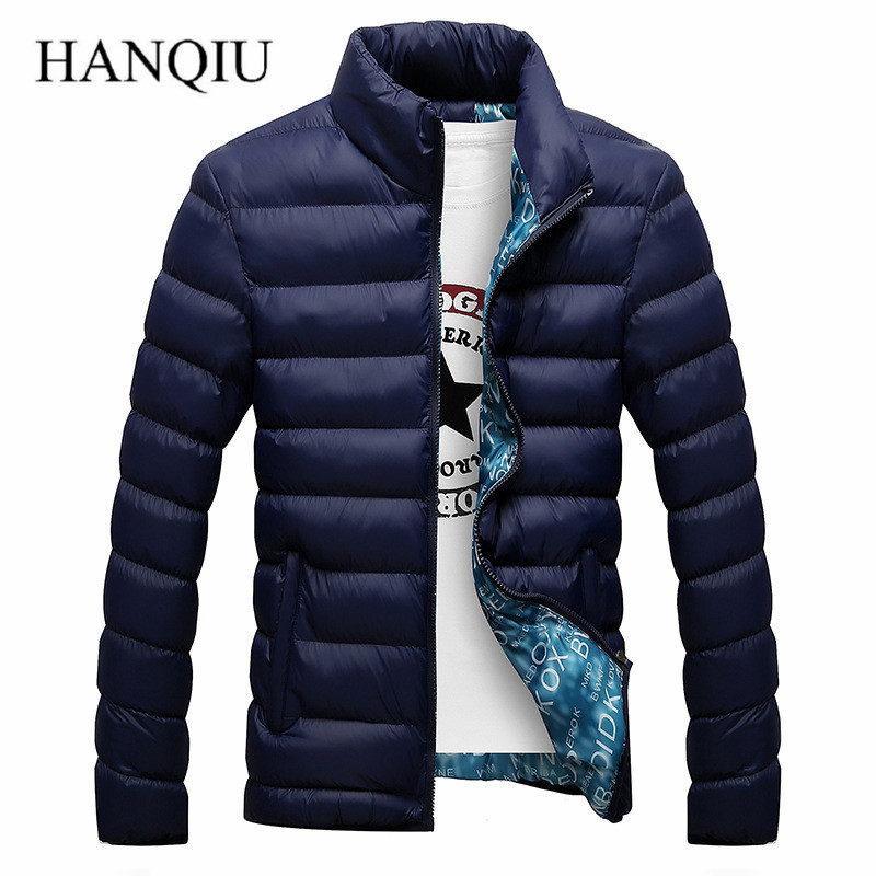 Thick Winter Jacket Men Duck Down Coat 2017 Winter New Man Parka Overcoat Stand Collar mens Jackets and Coats(China (Mainland))