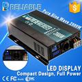 LED display Solar Inverter off grid home inverter 2000W 12 24 36 48VDC to 100 110