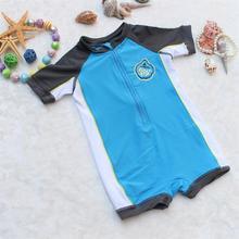 2016 new baby infant boys swimwear sunsafe bathers togs 0-2 years old Rash Guards beach wear(China (Mainland))