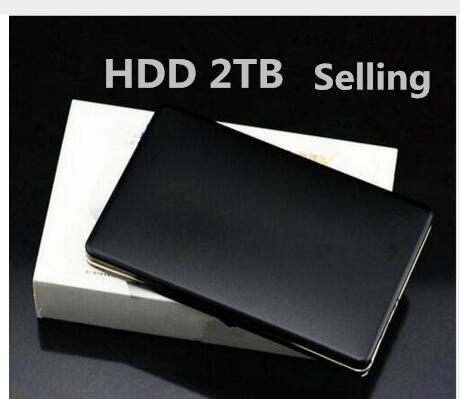 "Three color original external hard disk drive USB mobile hard disk drive 2 TB sata 2.5 2.0 ""internal portable laptop free postag"
