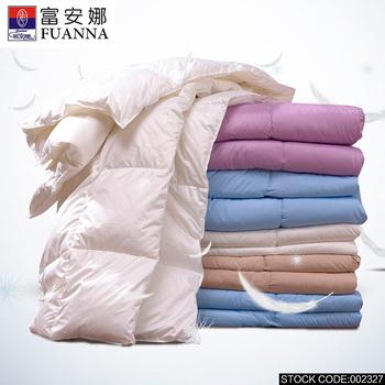 Fuannahot продаж новинка роскошные подлинная взрослых зима белая утка вниз утешитель постельных принадлежностей одеяло королева, кровать CQSNYRB